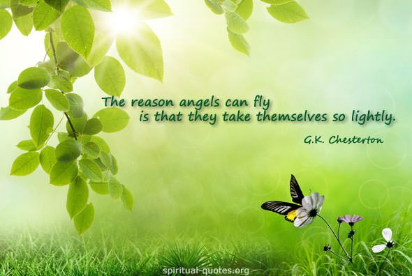 G.K, Chesterton Quote