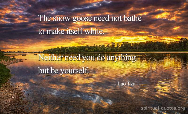 Spiritual quote by Lao Tzu