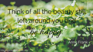 Happiness Quote Anne Frank