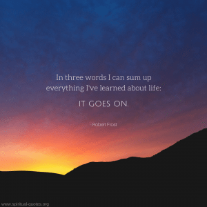 Life Quote By Robert Frost