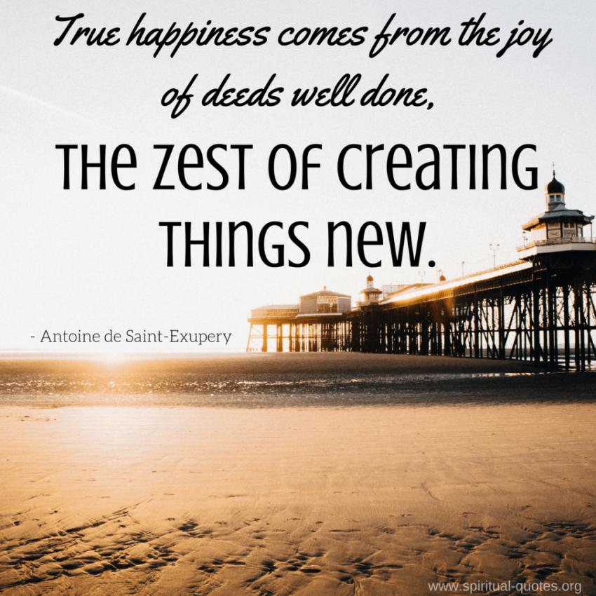Antoine de Saint-Exupery Quote