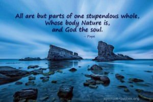 Spiritual quote by Pope, Inspirational quotes