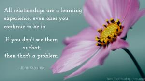 Relationship Quote - John Krasinski