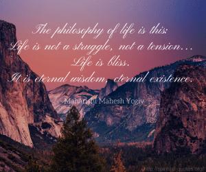 Wisdom Quote - Maharishi Mahesh Yogi