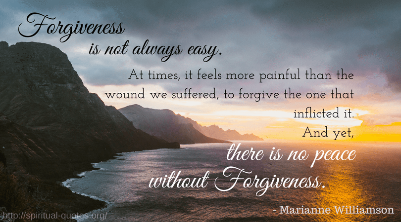 spiritual quotes forgiveness healing loss